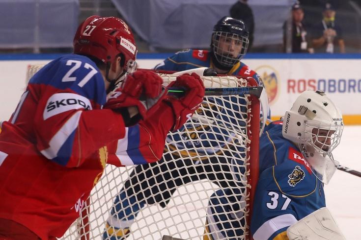 Русские юниоры снова удивляют! 18-летний Амиров забил крутой лакросс-гол