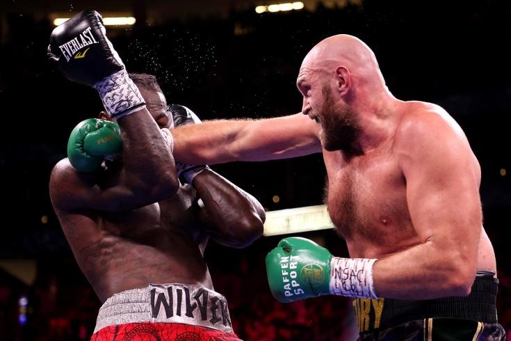 Тайсон Фьюри — Деонтей Уайлдер, победа нокаутом в бою за чемпионство в супертяжёлом весе, пресс-конференция