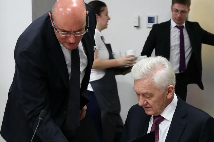 Дмитрий Чернышенко и Геннадий Тимченко
