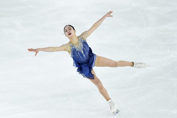 Кореянка Ён опередила всех российских фигуристок