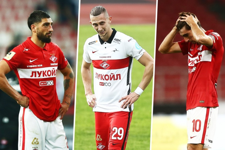 У «Спартака» настоящая беда с контрактами. Уйти бесплатно могут сразу 9 россиян и Жиго!