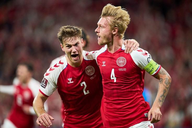 Дания не теряет очков в отборе ЧМ-2022
