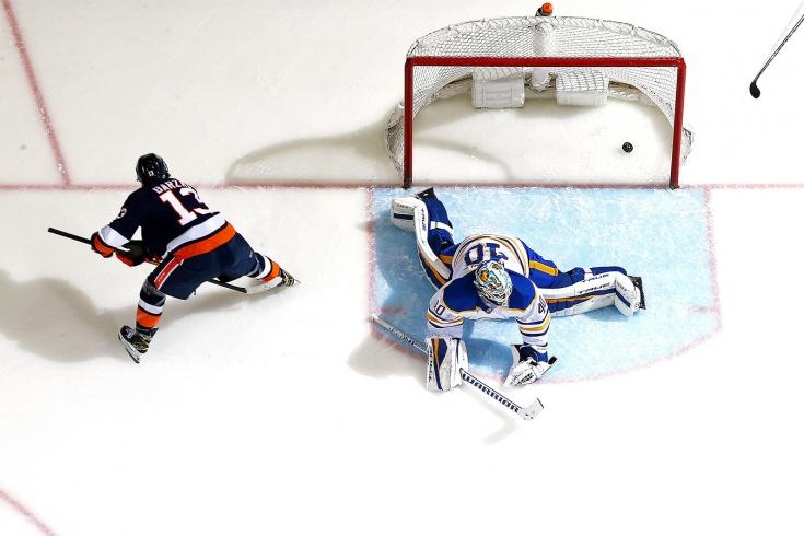 «Это даже нечестно!» Бесподобная шайба Барзала – кандидат на гол года в НХЛ