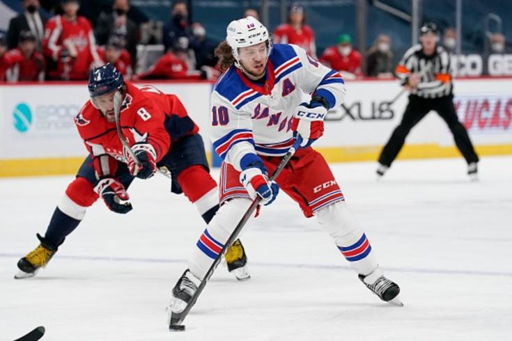 «Рейнджерс» — «Вашингтон» — 5:2, видео, голы, обзор матча регулярного чемпионата НХЛ-2021
