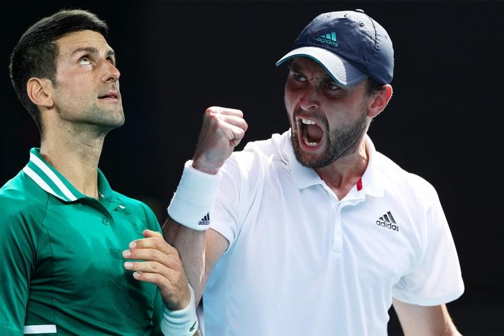 Australian Open — 2021 – прямая трансляция 1/2 финала: Джокович – Карацев, статистика, ожидания, видео