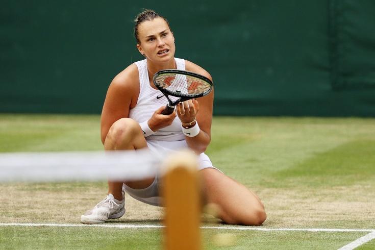 В шаге от финала Уимблдона. Белоруска Соболенко уступила экс первой ракетке мира