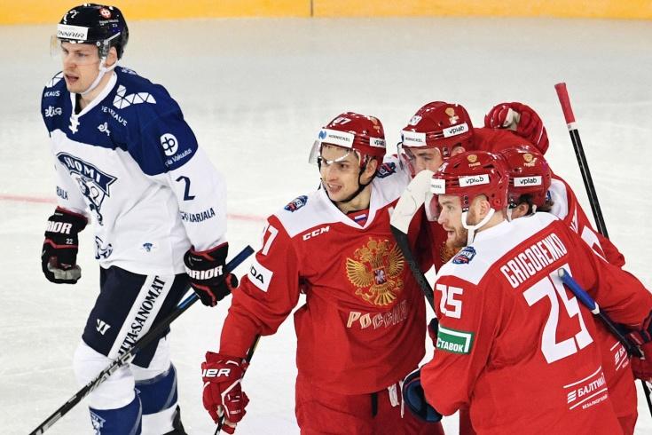 Россия – Финляндия – 2:0