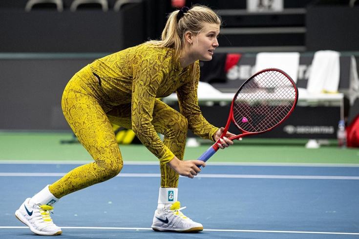 Теннисная красотка Эжени Бушар перезапускает свою карьеру в Праге