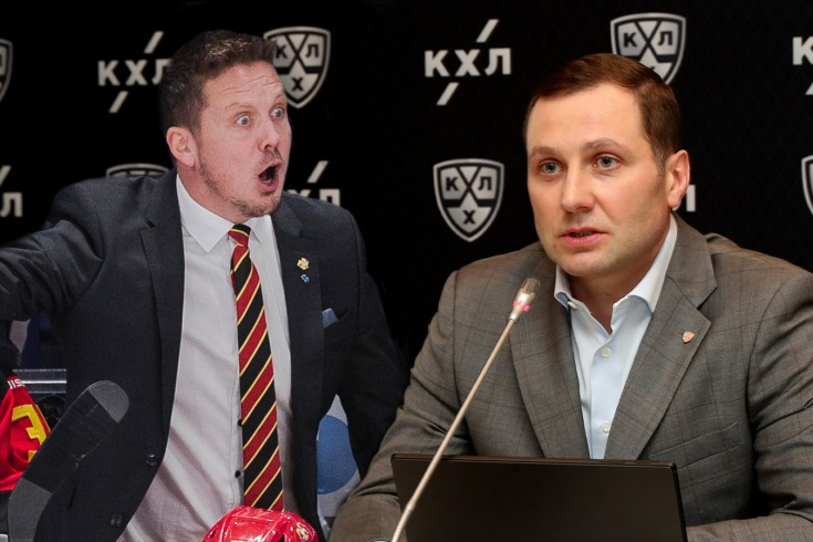 Пресс-конференция президента КХЛ Алексея Морозова: плей-офф, проблемы с «Йокеритом»