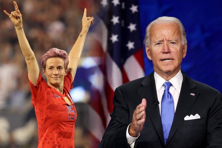 «Сегодня победила демократия». Как футбольный мир отреагировал на победу Джо Байдена