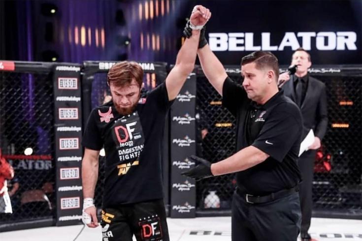 Магомед Магомедов проведёт следующий бой в Bellator 2 апреля 2021