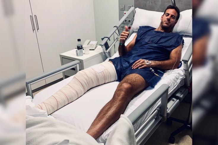 Аргентинец Хуан-Мартин дель Потро восстанавливается после новой операции на колене