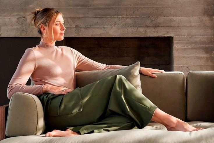 Мария Шарапова представила свою коллекцию мебели, до этого теннисистка работала над дизайном дома, кроссовок, сумочек