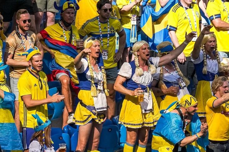 Матч Швеция — Словакия