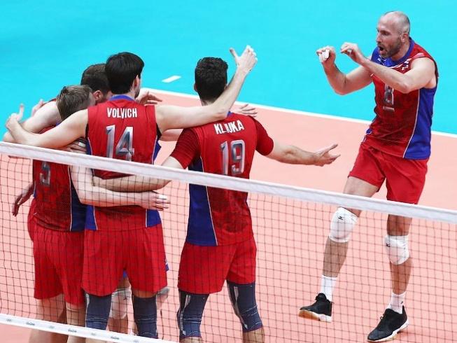 Рио-2016. Волейбол. Россия - Иран - 3:0