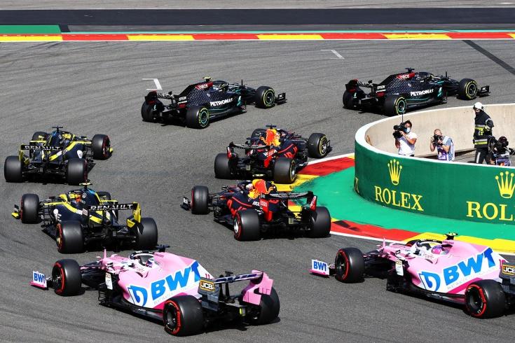 Хэмилтон всего в двух победах от рекорда Шумахера! Напарник Квята — герой гонки