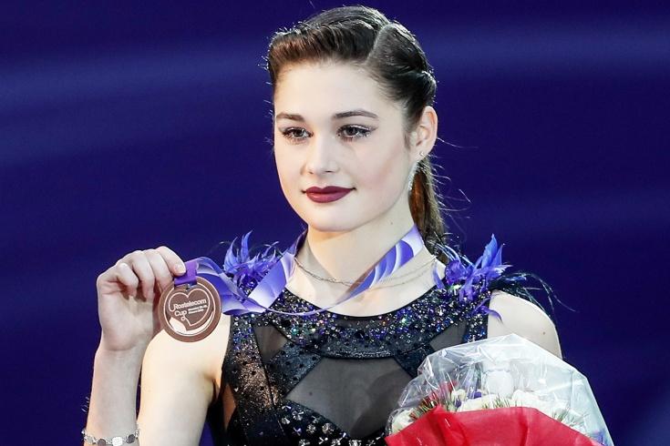 История фигуристки Анастасии Гуляковой — бронза на этапе Гран-при в Москве, победы над Трусовой, тройной аксель