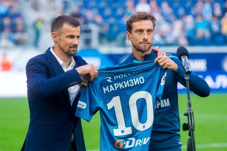 Сергей Семак и Клаудио Маркизио