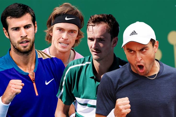 Тест: Даниил Медведев, Андрей Рублёв, Аслан Карацев, Карен Хачанов, как хорошо вы знаете российских теннисистов?
