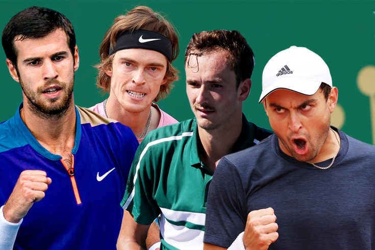 Как хорошо вы знаете наших теннисистов – Медведева, Рублёва, Карацева и Хачанова?