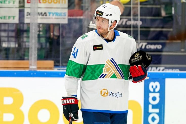 Николай Кулёмин оформил хет-трик в первом официальном матче за «Салават Юлаев»