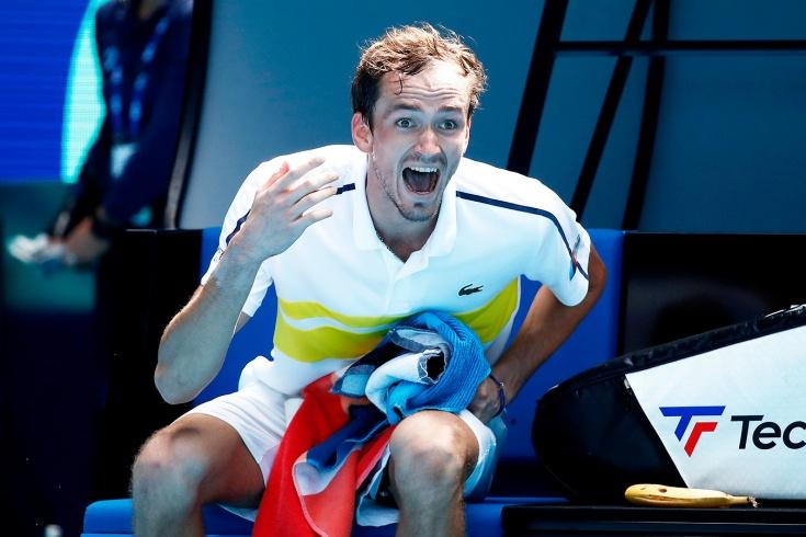 Australian Open – 2021. Даниил Медведев впервые выиграл 5-сетовый матч, довёл свою серию до 17 побед