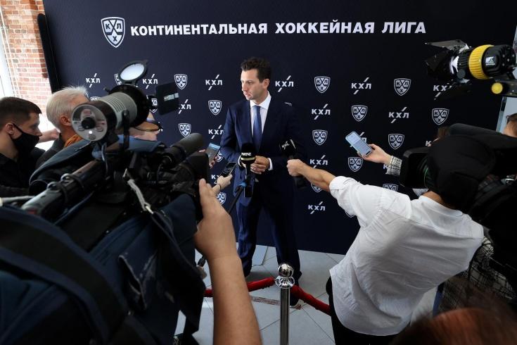 Как прошёл совет директоров КХЛ, интервью с Алексеем Морозовым, 13.09.2021