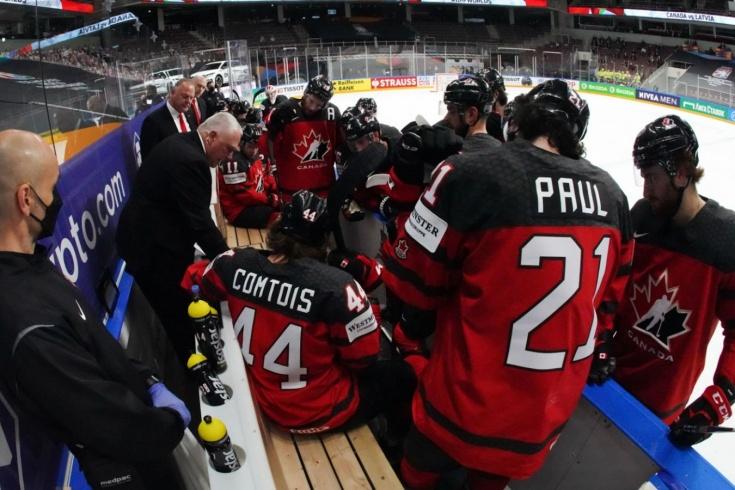 Канада — США — 1:5 — видео, голы, обзор матча чемпионата мира по хоккею — 2021
