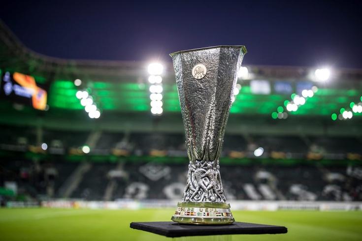 Результаты жеребьёвки 1/8 финала Лиги Европы сезон