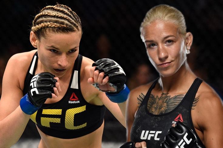 UFC Fight Night 194: Мария Мороз болевым приёмом победила Сабину Мазо и бросила вызов Марине Мороз, видео