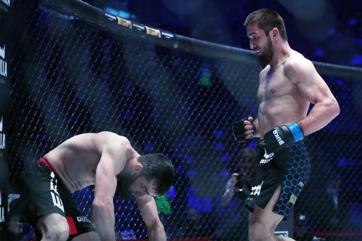 EFC 33: Герги Шахрурамазанов нокаутировал Али Дикаева, видео