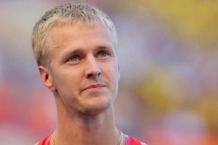 Бывший чемпион России по бегу Александр Хютте