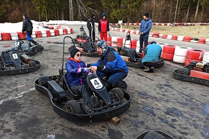 Проект «Слепые гонки»: как незрячие занимаются автоспортом