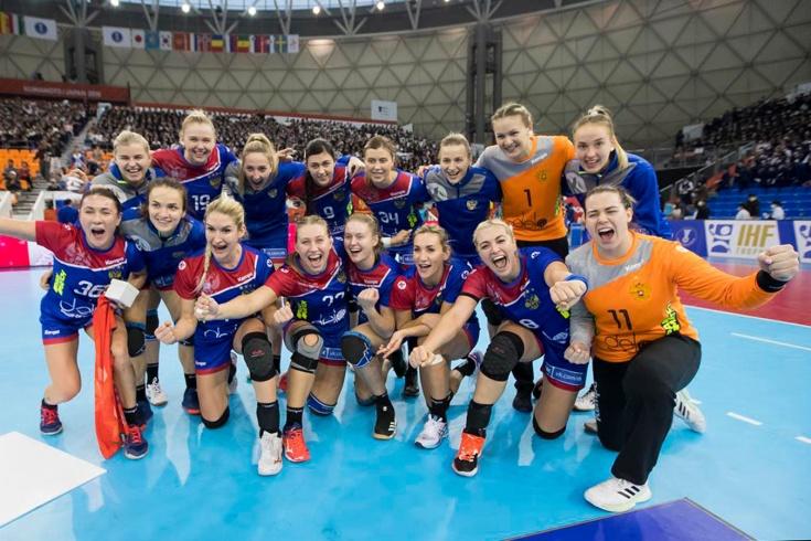 Россия разгромила Испанию на чемпионат мира