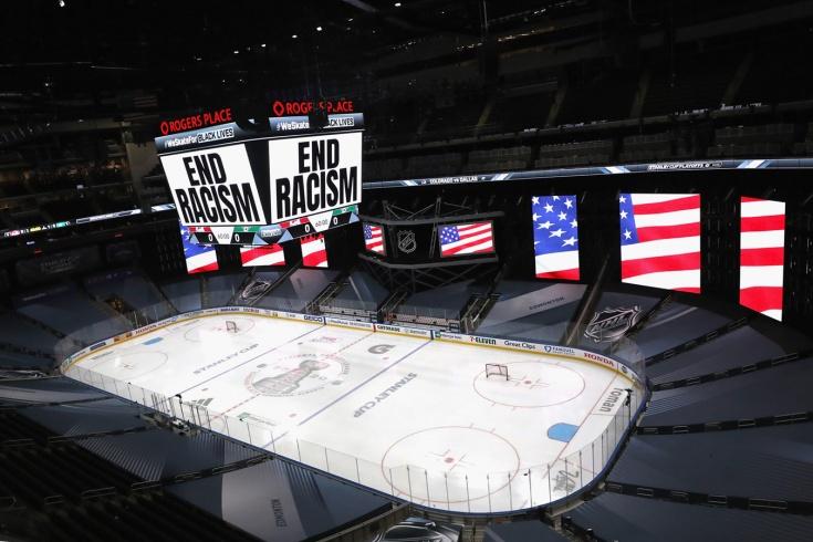 «Арены НХЛ потемнеют, как и должны». Что пишут в Америке об остановке плей-офф
