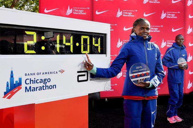 Рекорд Бриджит Косгеи. Чикагский марафон 2019