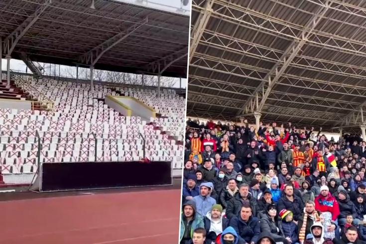 В ФНЛ могут дисквалифицировать стадион «Алании» из-за нарушения санитарного регламента
