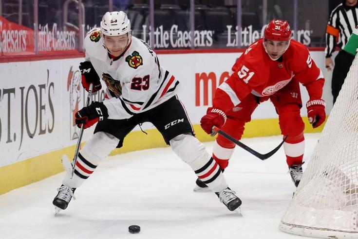 Детройт — Чикаго — 0:2 – видео, голы, обзор матча регулярного чемпионата НХЛ 2021