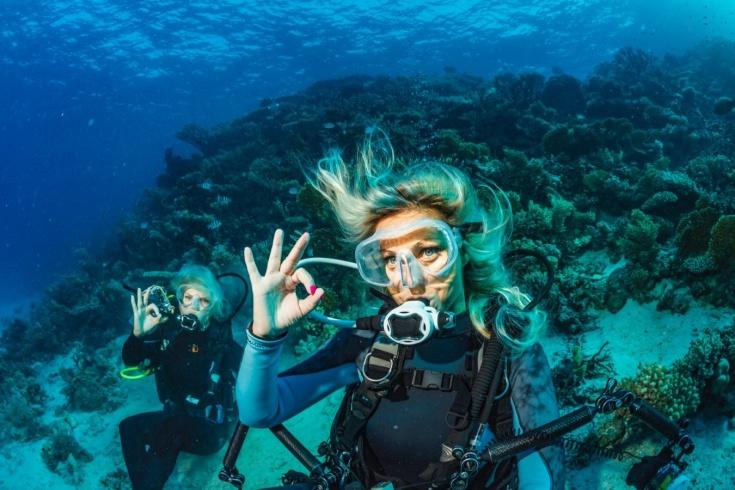 Как научиться нырять с аквалангом