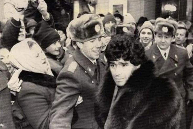 Диего Марадона в молодости: приезд в СССР, игра против «Спартака», наркотики