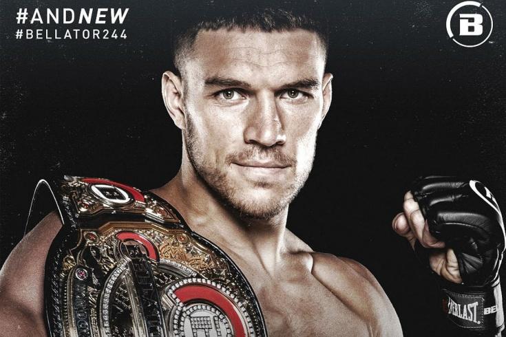 Вадим Немков нокаутировал Райана Бейдера и стал чемпионом Bellator, видео боя