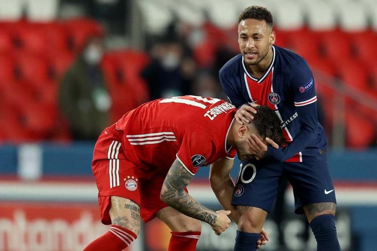«ПСЖ» — «Бавария» — 0:1, Лига чемпионов, 13 апреля, видео гола Шупо-Мотинга, анализ матча