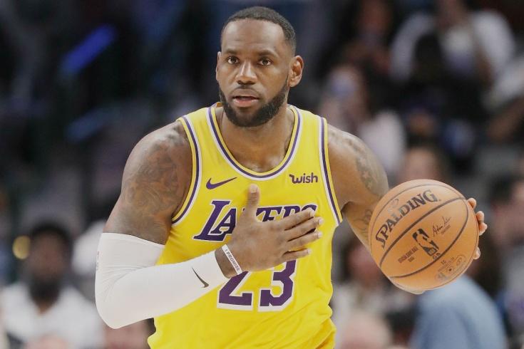 Леброн Джеймс установил несколько рекордов НБА