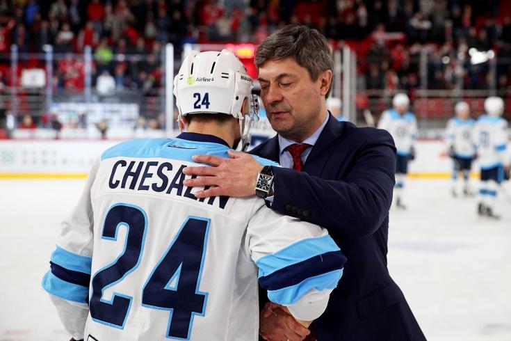 Новый тренер «Сибири» без шансов проигрывал ей в плей-офф. Но приход Мартемьянова логичен