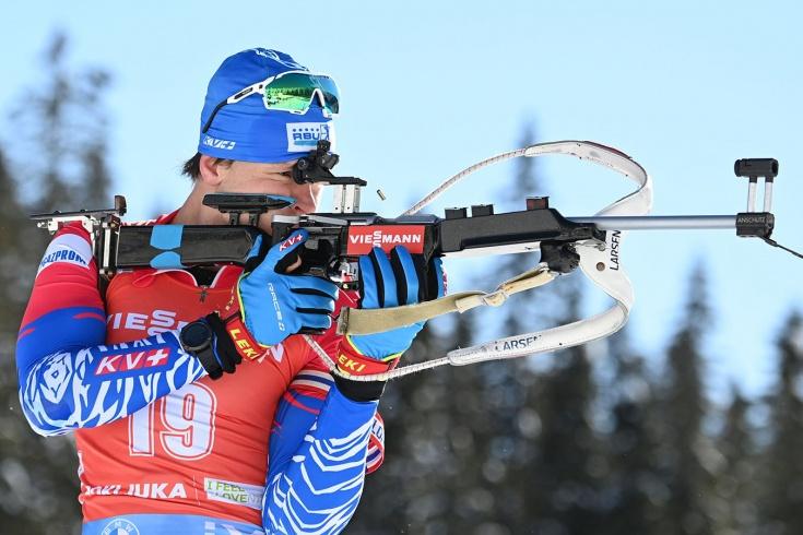 Матвей Елисеев, ЧМ по биатлону — 2021