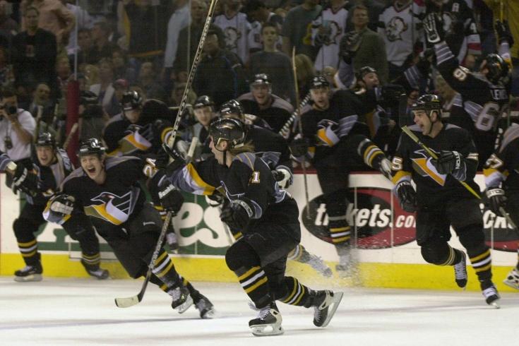 Самый известный гол Каспарайтиса в НХЛ