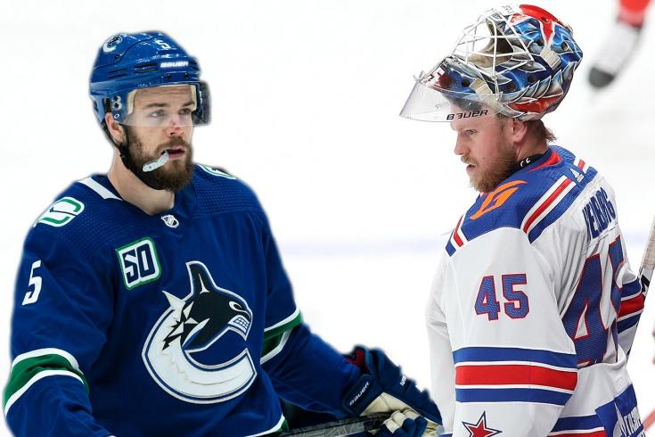 В СКА подписали шестого легионера из НХЛ. Теперь клуб выгонит вратаря Хелльберга?
