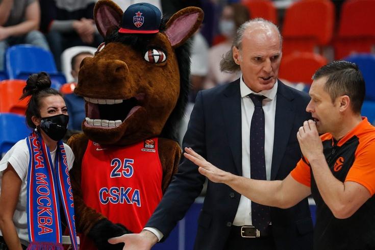 ЦСКА – «Баскония» —89:86