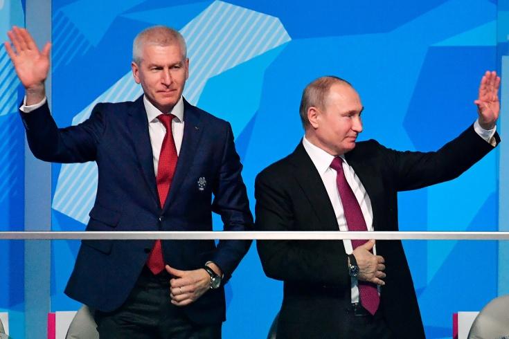 Министром спорта стал глава FISU Олег Матыцин