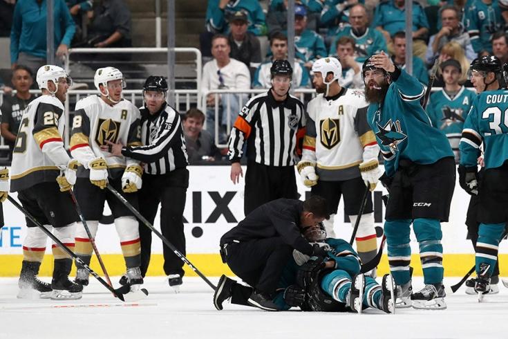 НХЛ извинилась перед «Вегасом» за ошибку судей